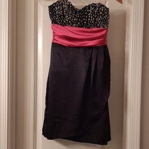 Mystic strapless mini dress